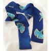 Gingko leveles csíksál, kék
